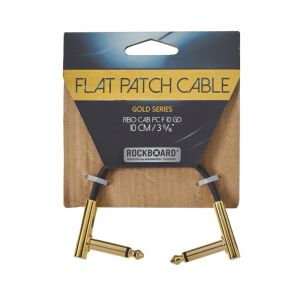 RockBoard GOLD Flat Patch Cable 10 cm