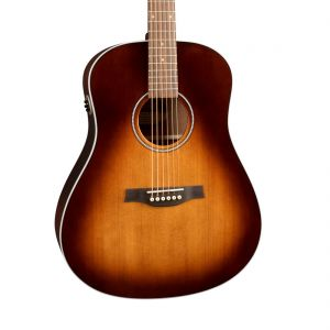 Seagull Maritime SWS Mahogany Burnt Umber GT QIT Guitarra Electroacústica