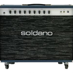 Soldano Reverb-O-Sonic Navy Blue Sparkled Grille B-Stock