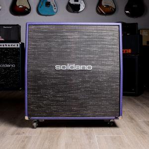 Soldano 4X12 Purple Cabinet