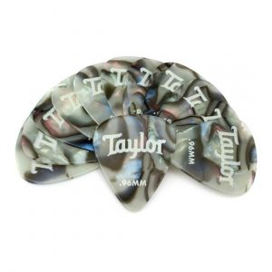 Taylor Celluloid 351 Picks, Abalone, 0.96mm, 12-Pack