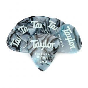Taylor Premium 351 Thermex Ultra Picks, Abalone, 1.00mm, 6-Pack
