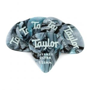 Taylor Premium 351 Thermex Ultra Picks, Abalone, 1.25mm, 6-Pack