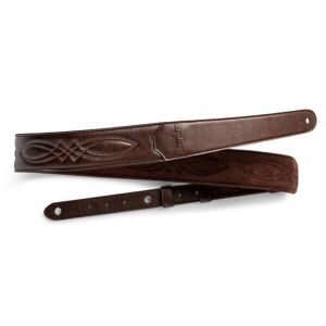 Taylor Vegan Leather Strap, Chocolate Brown, 2.0