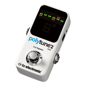 TC Electronic PolyTune 2 Mini Afinador Guitarra