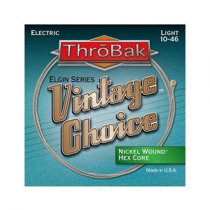 ThroBak Vintage Choice Nickel Wound Hex Core Light 10-46