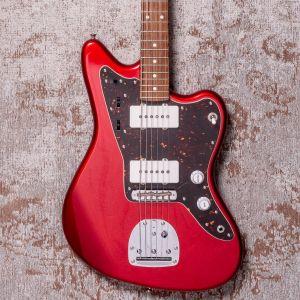 Tokai Contemporary AJM140 MR/R Silver Star Jazzmaster Metal Red