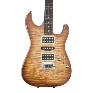 Tom Anderson Drop Top Hollow Natural Orange Burst with Binding