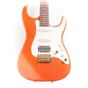 Tom Anderson The Classic Sparkle Orange Used Guitar