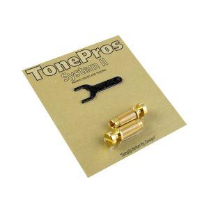 TonePros Locking Studs Metric (Gold)