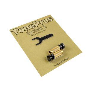 TonePros SBS1-B Tornillos de bloqueo Standard (negro)