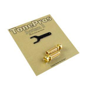 TonePros Locking Studs Standard (Golden)