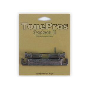 TonePros Tailpiece Metric, 7 String (Chrome Black)