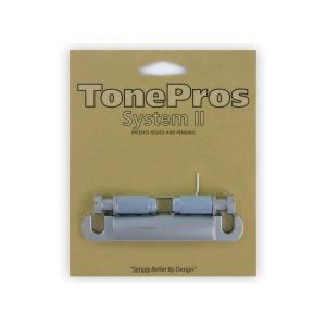TonePros Tailpiece Standard (Satin Chrome)
