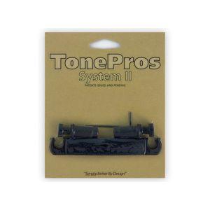 TonePros T7Z-B Tailpiece Metric, 7 String (Black)