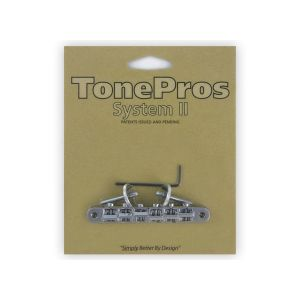 TonePros AVR2-C Tune-O-Matic Bridge, ABR1 Replacement (Chrome)