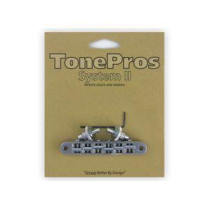 TonePros TP6-C Tune-O-Matic Bridge Standard, Small Posts (Chrome)
