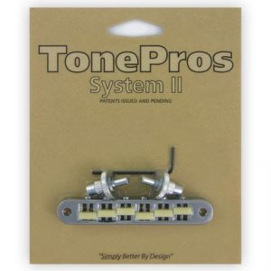 TonePros Tune-O-Matic Bridge Standard, Small Posts,