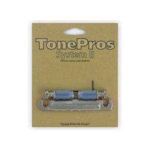 TonePros T1ZSA-N Tailpiece Standard, Aluminum (Nickel)