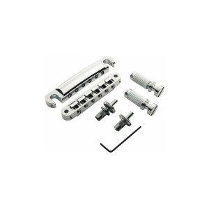 Pack puente TonePros Tuneomatic + Cordal set Standard, postes pequeños y silletas con muesca
