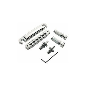 Pack puente TonePros Tuneomatic + cordal set Standard, postes pequeños (níquel)