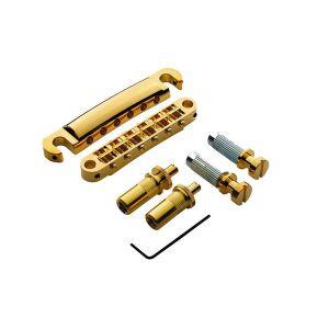 Pack puente TonePros Tuneomatic + Cordal set Standard, postes grandes y silletas con muesca