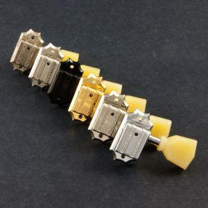TonePros Tuners Kluson 3 + 3, Bolt bushing (Satin Nickel)