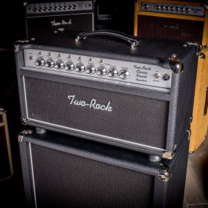 Two Rock Classic Reverb 100W Head Silver Anodize