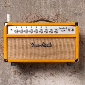 Two-Rock TS-1 100W, Silver Anodize, Gold Suede