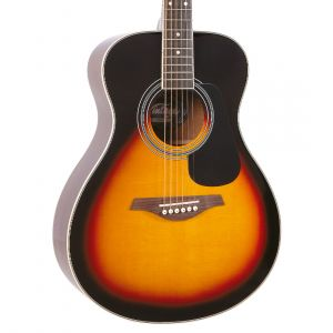Vintage V300 Acoustic Folk - Vintage Sunburst