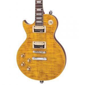 Vintage Reissued V100 Left Handed - Flamed Amber