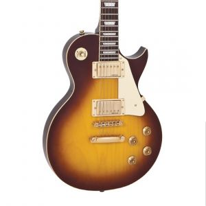 Vintage V100 Guitar- Tobacco Sunburst
