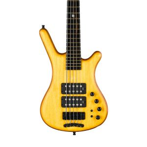 Warwick Corvette $$ Special Edition Yellow Dragon 5-String Bass