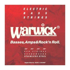 Warwick Cuerdas Bajo 4 Red Label 35-095