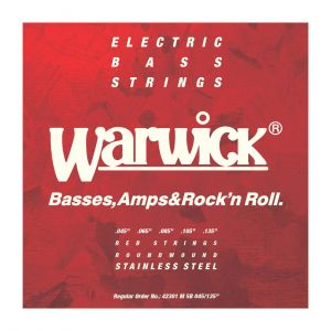 Warwick Cuerdas Bajo 5 Red Label 42301 45-135
