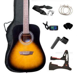 GWL George Washburn Limited Acoustic Guitar Pack